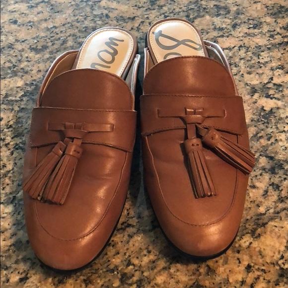 d6866a6c6 Sam Edelman Shoes - Sam Edelman tassel mules - 7.5